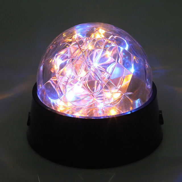 New romantic led firework starry light copper wire crystal ball new romantic led firework starry light copper wire crystal ball table lamp decor night light lamp greentooth Choice Image