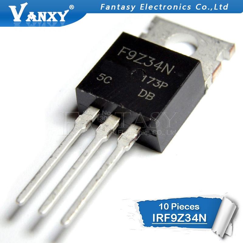 10PCS IRF9Z34N TO220 IRF9Z34 TO-220 IRF9Z34NPBF New MOS FET Transistor