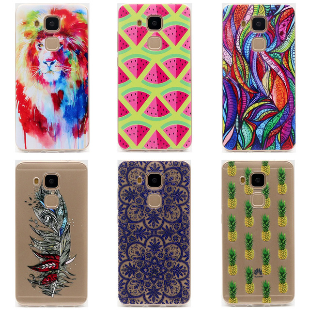 low priced 5598a 5f35e US $1.29 |For Huawei Nova Plus Case Cover Silicone TPU Soft Back Cover  Phone Case For HUAWEI Nova Plus Colorful Printing Back Cases-in Fitted  Cases ...