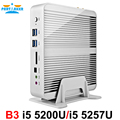 Partaker B3 Business Mini PC Fanless Computer with 4th 5th Gen Intel Core I5 4258u 4278u 5200u 5250u Processor