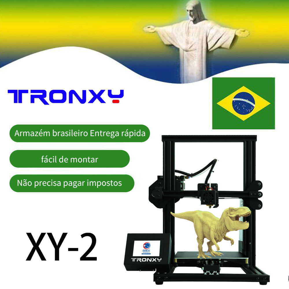 Tronxy 3d printer new 2019 XY-2 easy to assemble high precision for DIY beginners image