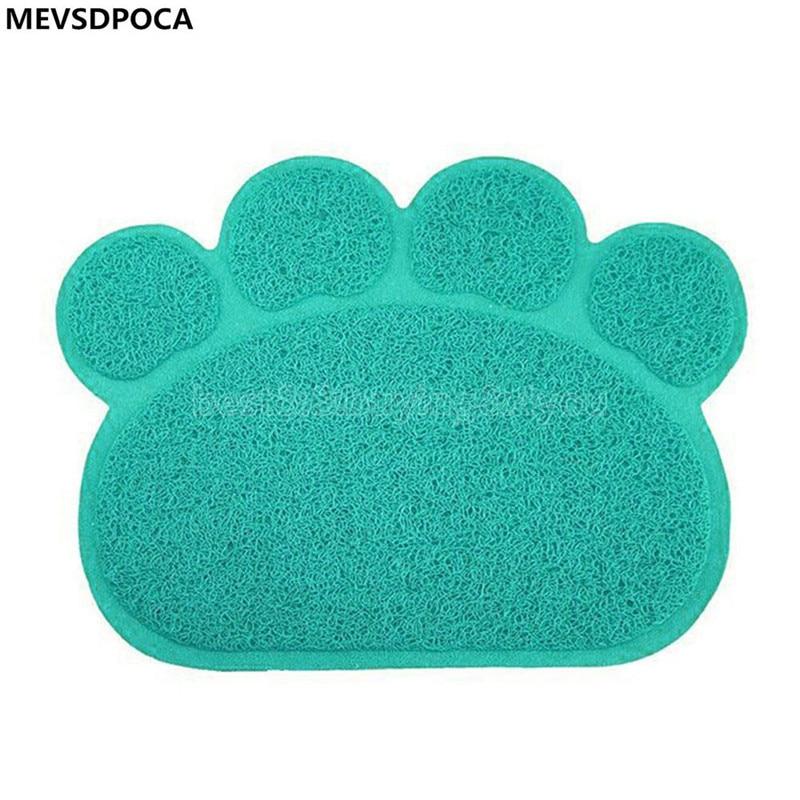MEVSDPOCA PVC Cat Foot pad car Contained font b Supplies b font dog Placemat font b