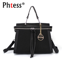 PHTESS Luxury Small Handbags Women Bags Designer Crossbody Messenger Bags For Women Fashion Pu Leather Patchwork