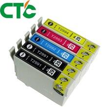 5 Pack T2991 T2992 T2993 Ink Cartridges Compatible for INK XP-235 XP-332 XP-335 X-P432 XP-435 XP-247 XP-442 XP-342 XP-345
