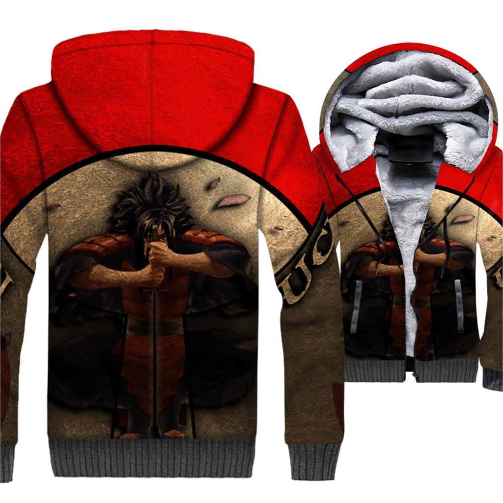 Uchiha Itachi men Ootutuki Hagoromo sweatshirt man Anime hipster jacket Uzumaki Naruto jackets 2019 winter 3D Print hip-hop coat
