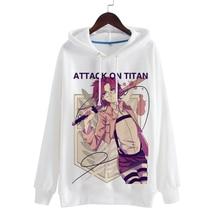 Attack on Titan Eren/Mikasa Ackerman/Armin Arlert Halloween Polyester Hooded Hoodies (14 types)