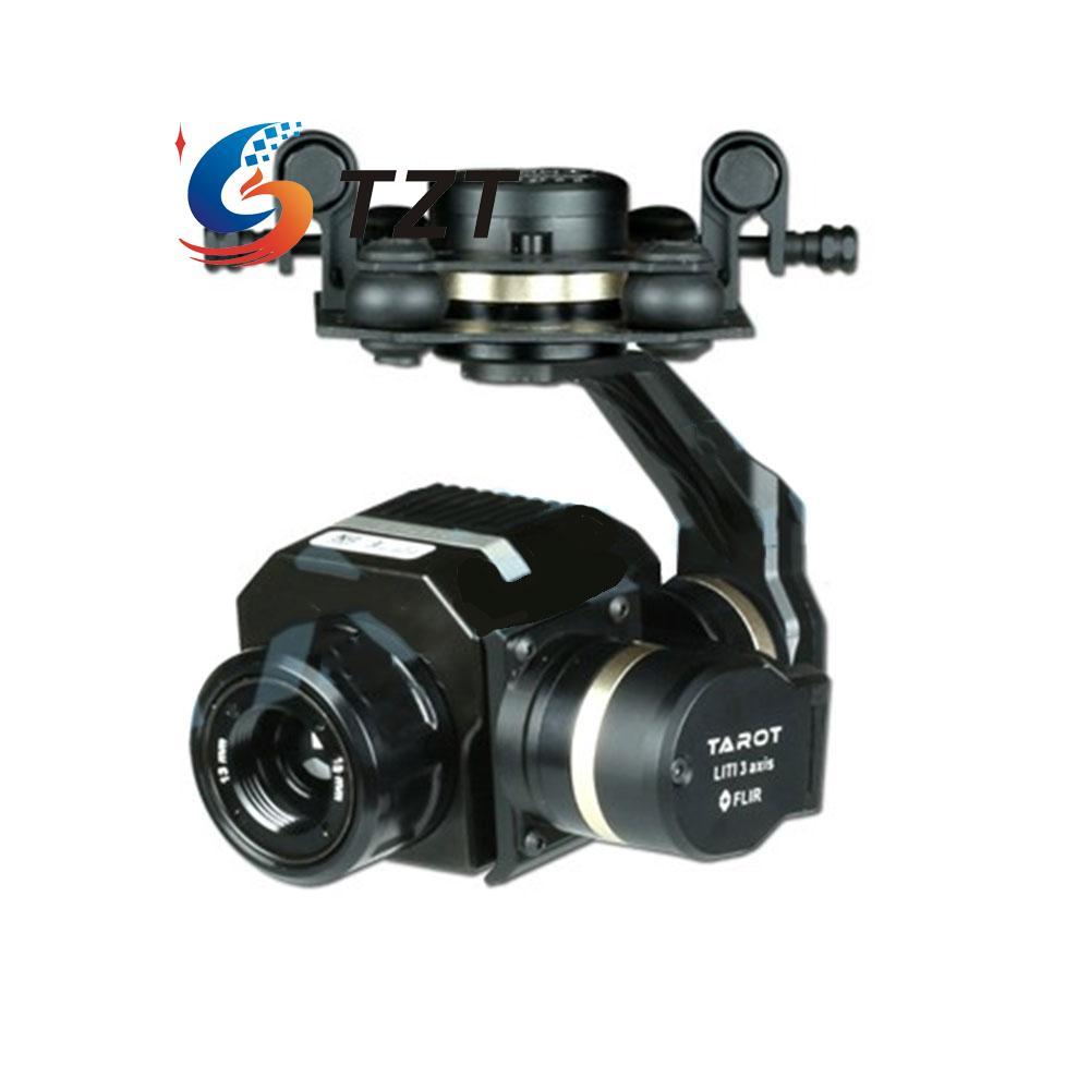 Tarot FLIR VUE PRO Gimbal Stabilizer 3 Axis Support Pro Version for Drone Quadcopter TL03FLIR tarot metal efficient flir thermal imaging gimbal camera 3 axis cnc gimbal for flir vue pro 320 640pro tl03flir