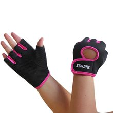2018 New Multi-colors Women Men Fitness Exercise Workout Fitness Gym Sports Gloves Gym Training Hiking Gloves cheap Sport Gloves Dumbbell Aolikes