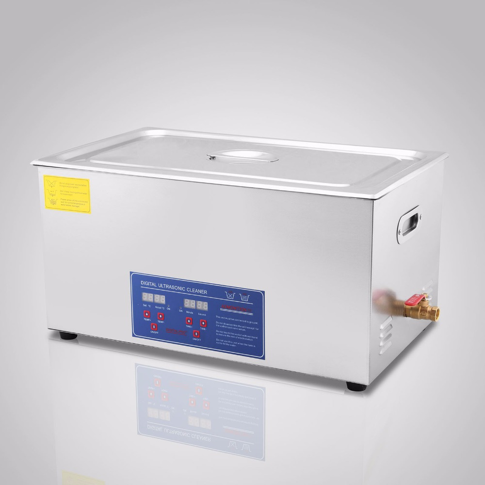 Ultrasonic Cleaner  Digital Stainless Ultrasonic Cleaner Ultra Sonic Bath Cleaning Tank Timer Heater 22L
