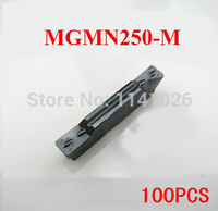 100PCS MGMN250 M carbide turning insert ,Factory outlets,cutting insert,cnc,machine for Grooving Holder MGEHR & MGIVR