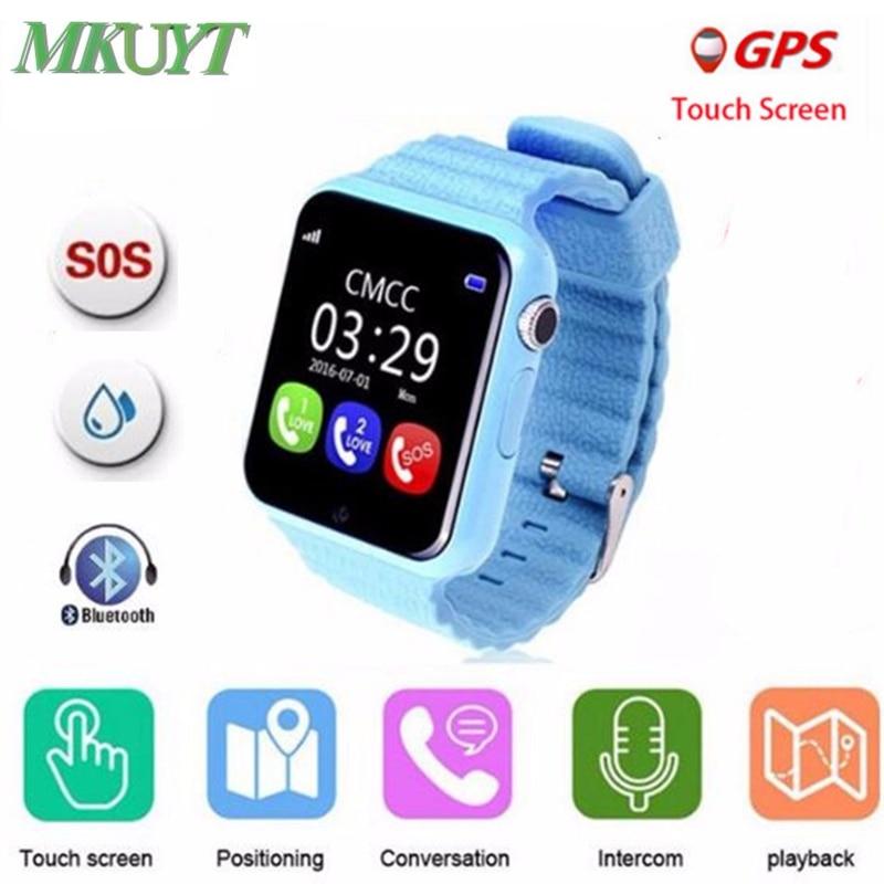GPS smart watch lapse kell V7k koos kaameraga / facebook SOS kõne asukoht DevicerTracker lapse ohutuks kadunud monitoriks PK Q80 Q90