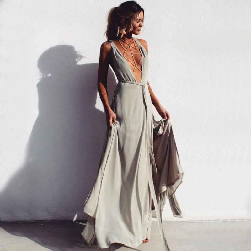 MUXU patchwork streetwear vestidos jurken sexy women clothing kleider  sundress fashion sukienka long dress loose robe d8d4440252f9