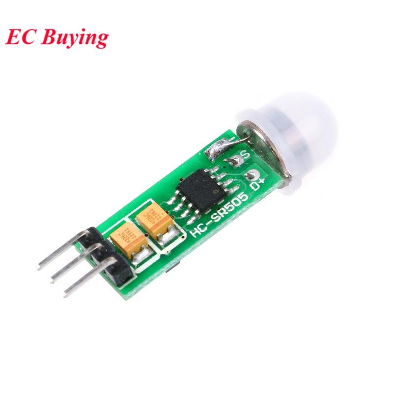 AM312 HC-SR501 HC-SR505 Einstellen IR Pyroelektrische Infrarot PIR Module Motion Sensor Detektor Modul für Arduino