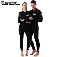 Slinx Men Women 3mm 5mm Neoprene Jacket Long Pants Wetsuit Kite Surfing Windsurfing Swimwear Boating Scuba Diving Suit
