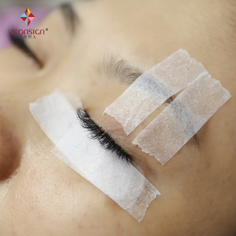 10 pieces/lot White nice soft paper material Non-woven tape strong stick medical tape for lash extension
