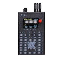 New 1MHz-8000MHz Wireless Signal Detector Radio Wave WiFi Bug Detector Camera Full-Range RF Detector G318 EU/US PLUG