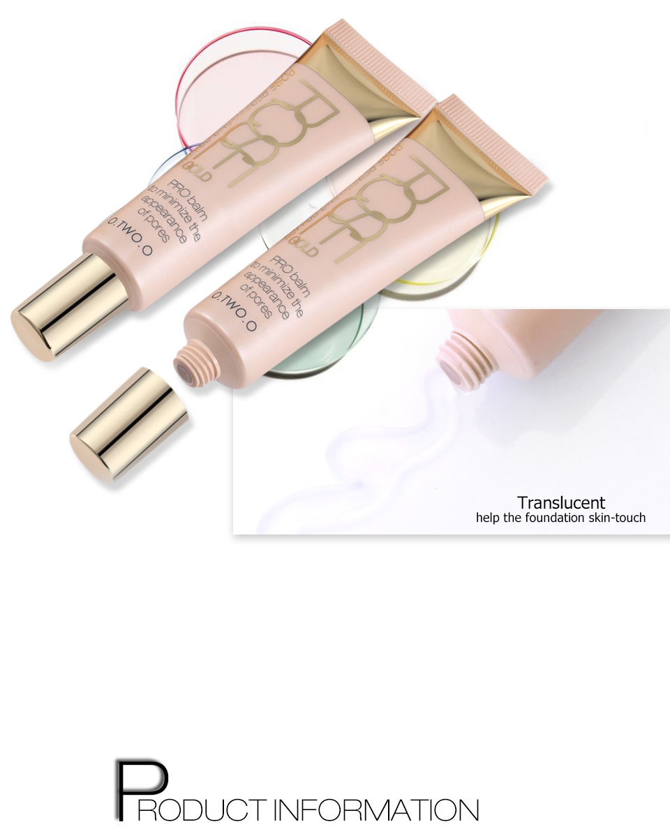 HTB1OipHSFXXXXc7XVXXq6xXFXXX1 O.TWO.O Face Primer Make Up Base Foundation Primer Makeup Oil Control Moisturizing Face Smoothing Transparent