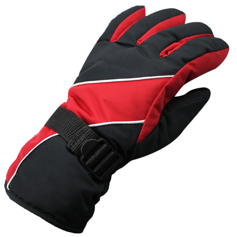 Winter Coldproof Warm Space Cotton Gloves Waterproof Windproof Skiing Gloves Men Sport Gloves 5 Colors