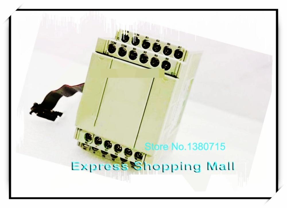 New Original AFPX-E16P PLC 8-point input 8-point transistor (NPN) output FP-X Expansion Unit 24input 16 transistor output plc cpu226t 40 replace s7 200 6es7216 2ad23 0xb0 support original expansion module new