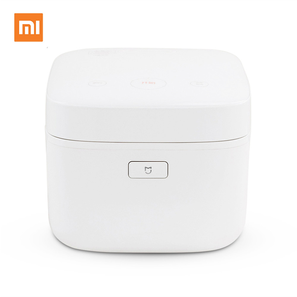 Original Xiaomi IH 3L Smart Electric Rice Cooker Alloy Cast Iron IH Heating Pressure Cooker midea original intelligent pressure ih rice cooker white 3l capacity mb wfs3099xm