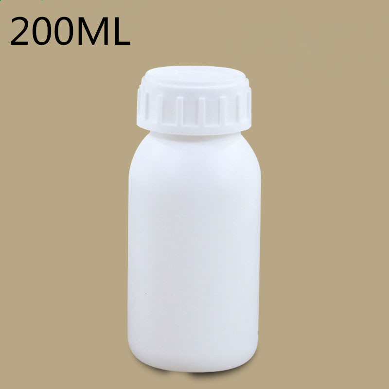 200ML Empty High Barrier Plastic Bottle For Chemical Solvents Pesticide Container With Screw Lid 20PCS/lot