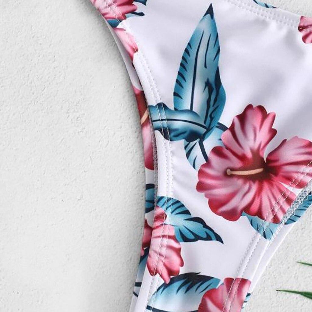 Sexy Bikinis Women 2019 Micro Bikini Set Push Up Cut Flower Two Piece Swimsuit Female Bandage Sexy Bikinis Women 2019 Micro Bikini Set Push Up Cut Flower Two Piece Swimsuit Female Bandage Swimwear Bathing Suit Biquini