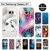 For Samsung Galaxy S7 G9300 G930 Silicon 3D Printing Luxury Pattern Soft Case for Samsung Galaxy S7 G9300 Coque Capa Funda S 7