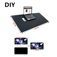 Super large DIY Custom mousepad XL XXL XXL 120*60cm 2mm grande DIY gaming Mouse pad desk mat Anime for CS GO dota 2 game gamer