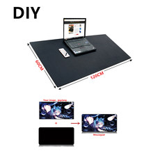 Besar DIY Custom Mouse Pad XXL XXXL 120*60 Cm 100*50 Cm 2 Mm Grande Diy Game mousepad Meja Tikar Anime For CS: Go Dota 2 Gamer(China)