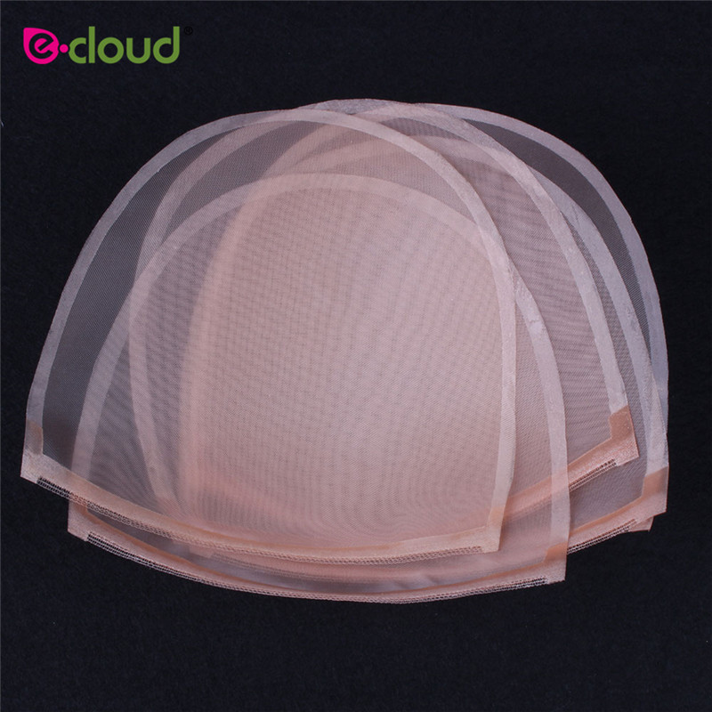 1-5pcs/bag Skin Mono Net For Wig Making U Part Swiss Lace Material For Wig Caps Wig Base Tools Wig Net Foudation Base Hairnets Tools & Accessories