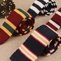Nova Chegada Vestuário de Confecção De Malhas Cravata Marca Popular Ternos Dos Homens de Negócios Gravata do laço Gravatas Gravatas Listradas Gravata Para O Casamento Clássico