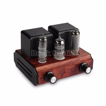 Douk Audio Mini 6N3 Vacuum&Valve Tube Amplifier Stereo Single-Ended Class A 2.0 Channel  Desktop Power Amp 2.5W*2