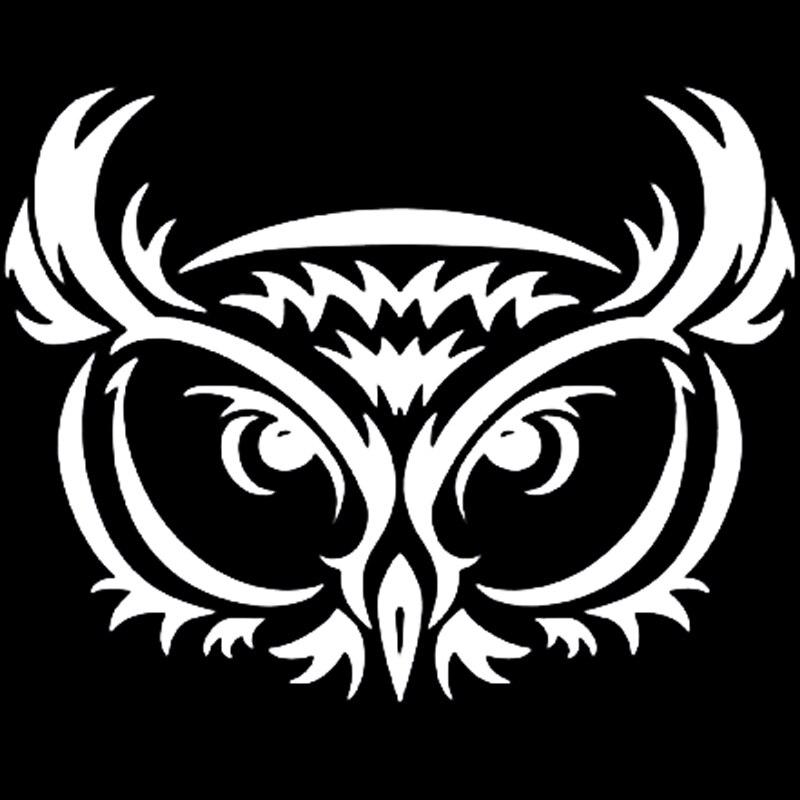 Wholesale 30pcs/lot  Owl Tribal Vinyl Graphic Decal Car Window Sticker Funny  Truck reflective material heart paw vinyl decal car truck sticker laptop boat truck auto bumper wall graphic sticker decoration