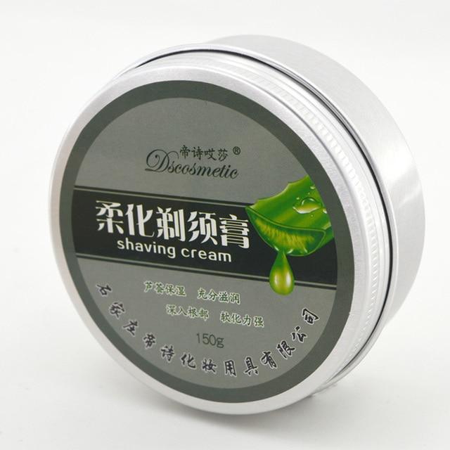 Dscosmetic Природных бритья creamfor мужчины Ручной мужской крем для бритья