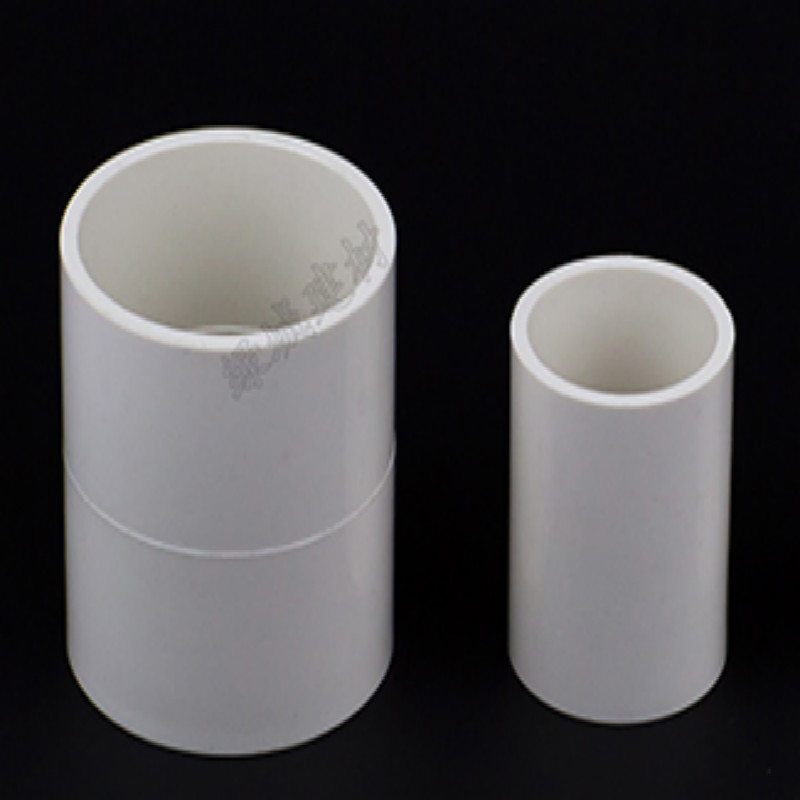 white PVC Pipe Fittings 2 tri clamp water fittings inner diameter 20 25 32 40 50 63 75 MM pass-through pipe fitting 5PCS/LOT