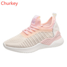 Women Sports Shoes Fashion 2019 Outdoor Mesh Breathable Spring and Autumn Walking
