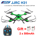 H31 jjrc rc drone com câmera à prova d' água ou sem câmera 2.4g dron Resistência À Queda de 6 Eixos 4CH RC Quadcopter RC Helicóptero vs X5C