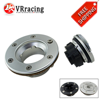 FREE SHIP Aluminum Billet Fuel Surge Tank / Fuel Cell Cap Flush Mount 6 bolt Mirror Polished Opening ID 35.5mm VR SLYXG01