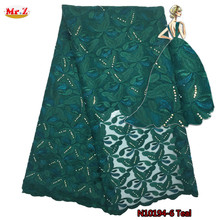 Здесь можно купить  Mr.Z Latest 2016 French Fabric With Stones High Quality African France Lace Embroidery Fabrics For Nigerian Wedding Lace N1096