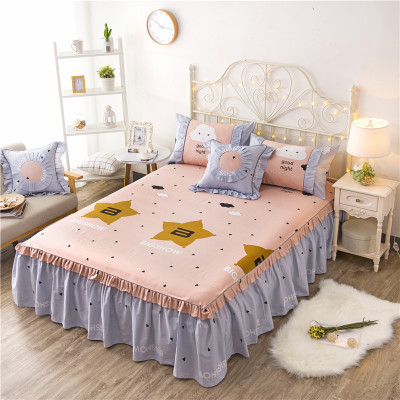 2018 NEW High Quality Sheets Comfortable Cotton Bed Sheet Fitted Sheet Flat Bed sheet Bedspread 200*220/180*200/180*220cm