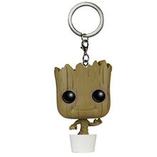 Baby Tree Avengers Infinity War Endgame Tree Man Marvel Action Figure Keychain Toys