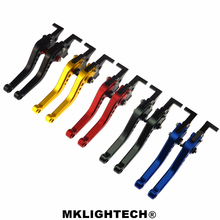 MKLIGHTECH FOR KAWASAKI NINJA 300R/Z300 13-17 250R 08-12 400 18 Motorcycle Accessories CNC Short Brake Clutch Levers