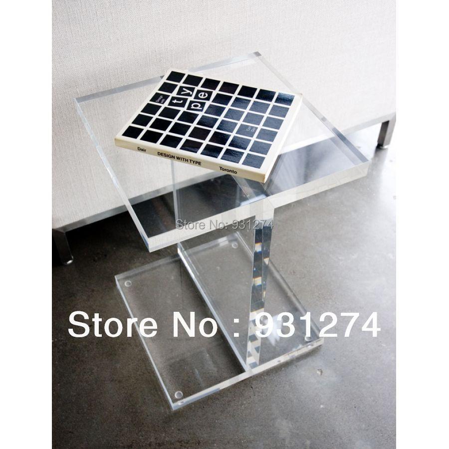 Wonderful Aliexpress.com : Buy Acrylic I Beam Side Table/Lucite Coffee Table/  Plexiglass