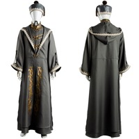 Albus Dumbledore Cosplay Costume Robe Cloak Adult Halloween Party Costume With Hat