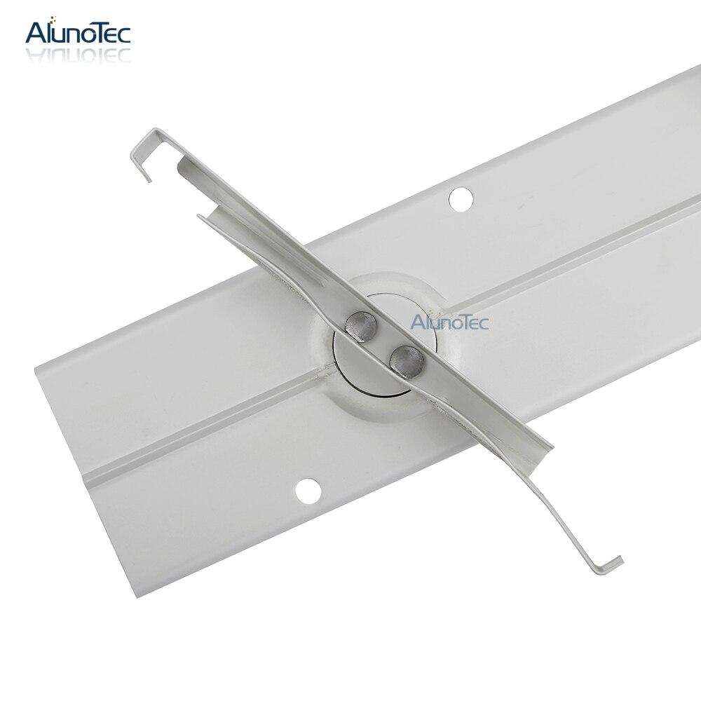 Aluno SF 400 4 Inch Clip 8 blade 736mm(H) Aluminium Alloy Louvre ...
