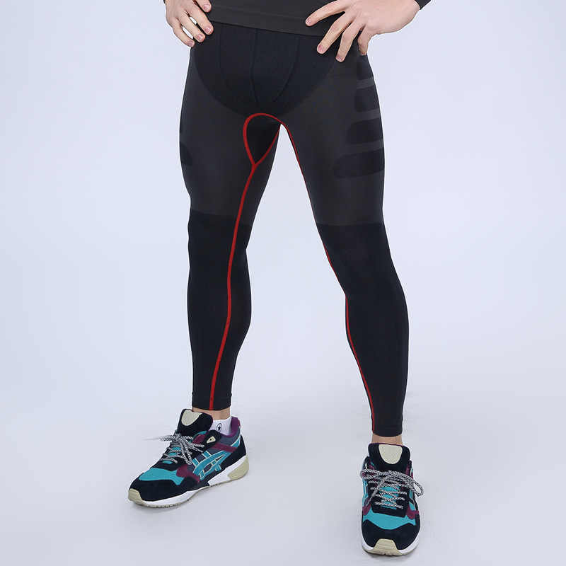 f6bcfb7d99081 ... Design Men's Compression Base Layer Sport Gear Sport Bottom Tight Gym  Wear Fitness Pants Leggings M L ...