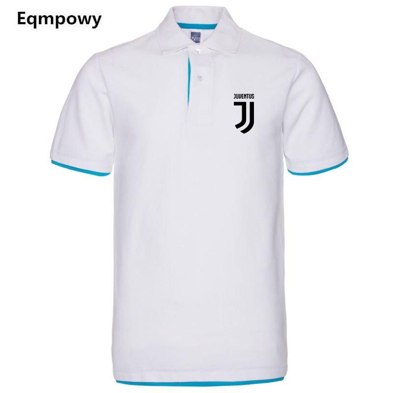 Camisa Juventus Polo Para Os Homens da marca dos homens Novos Desiger Polos  homens de Algodão 91879698afa88