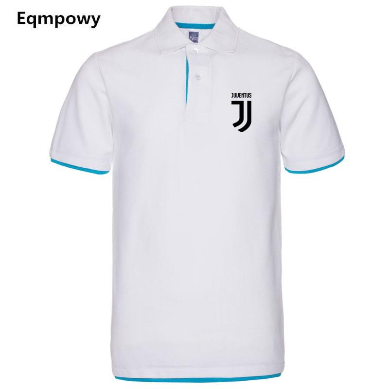 Marca dei Nuovi Uomini di Polo Juventus Per Gli Uomini Desiger Polo uomini Cotone Manica Corta camicia vestiti maglie golftennis Plus Size XXL