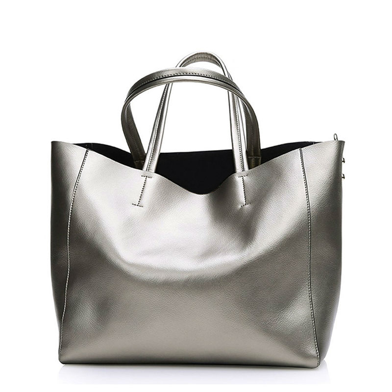 Bolsas Silver Luxury Famous Brand Women Messenger Bags Handbags Women Famous Brands Gold Women Leather Handbags Sac A Main Tote цена