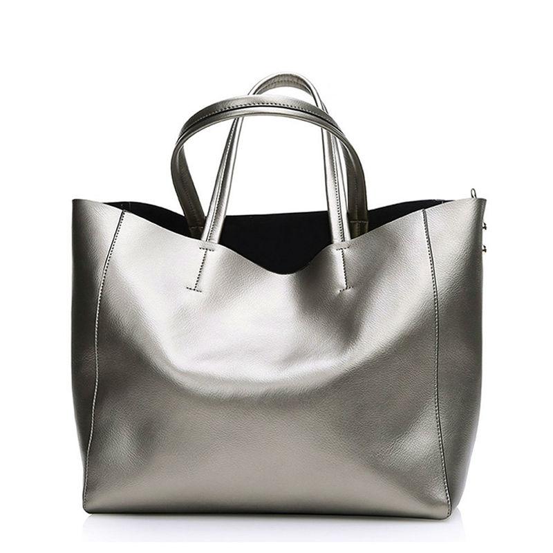 Bolsas Silver Luxury Famous Brand Women s